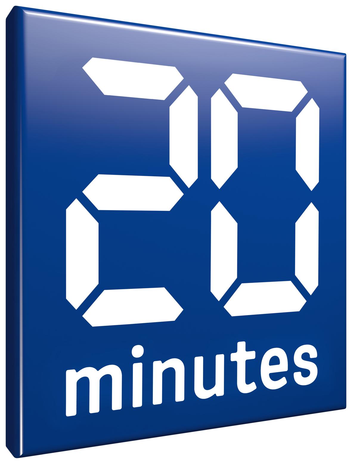logo de 20 minutes
