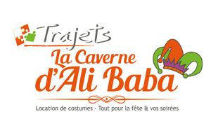 logo de trajet, la Caverne d'Ali Baba