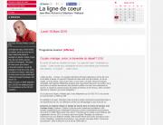 RTS La Ligne de coeur du 16 mars 2015