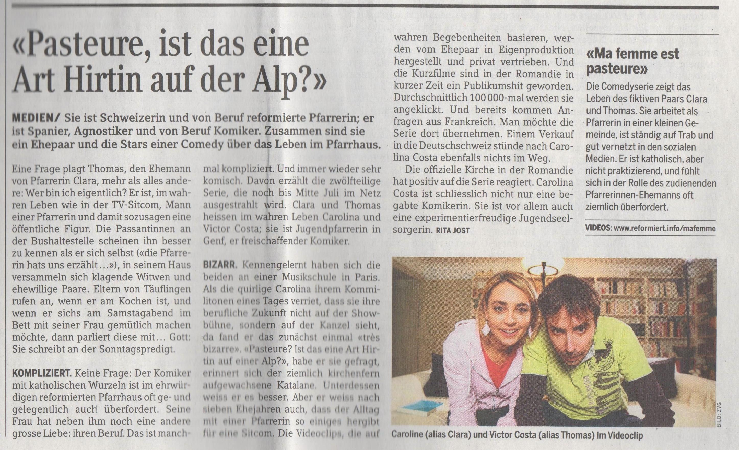 Reformiet / BERN-JURA-SOLOTHURN du 5 mai 2015