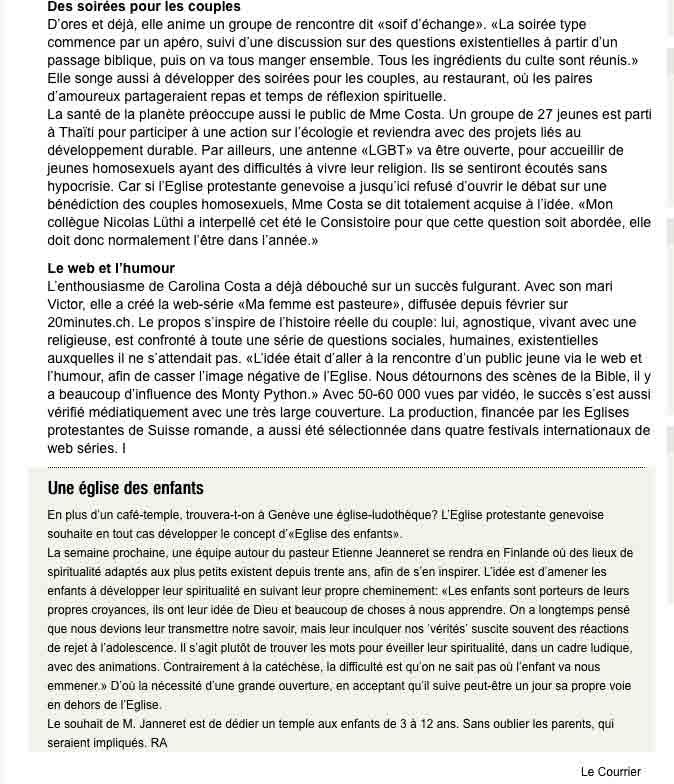 Le Courrier du 28 aout 2015 -2