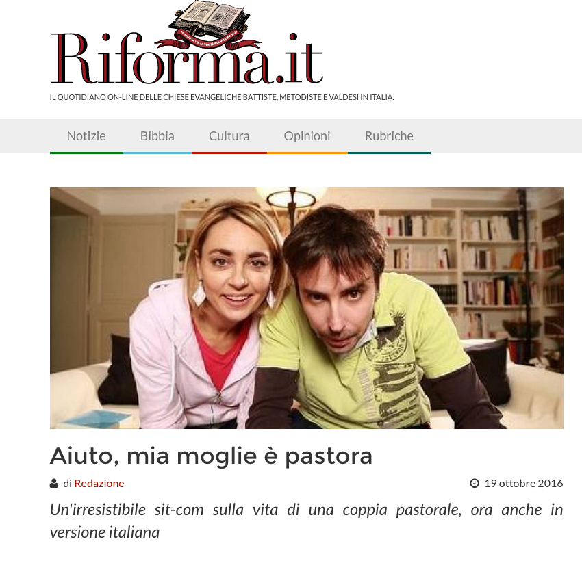 Riforma.it du 10 octobre 2016 - 1