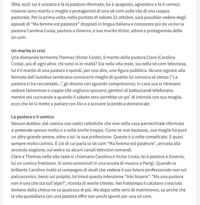 Vocebangelica du 18 octobre 2016 - 2