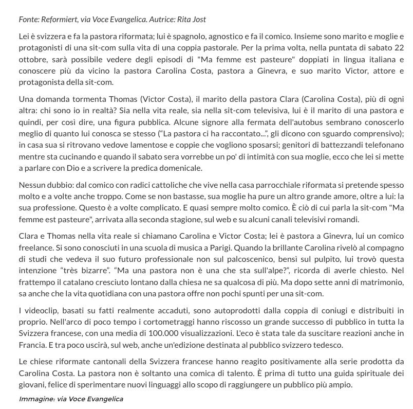 Riforma.it du 10 octobre 2016 - 2