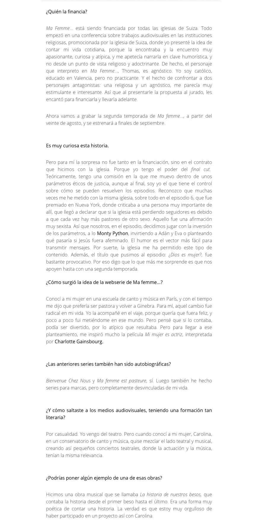 El Hype du 02 août 2016 - Espagne suite 2